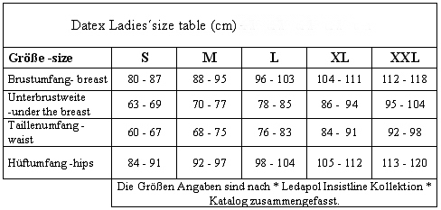 datex_size_table