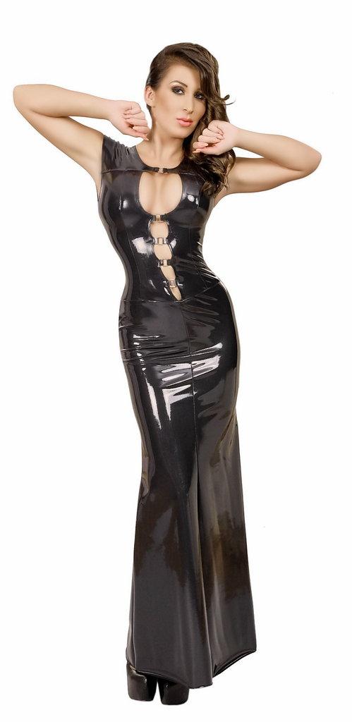 Insistline Product 9111 Datex Latex Kleid Lang