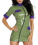 DateX Kleid Military Style